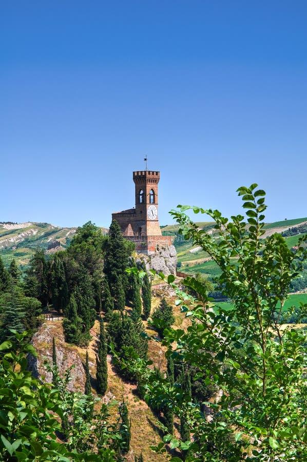 Clocktower. Brisighella. Emilia-Romagna. Italy. fotos de stock