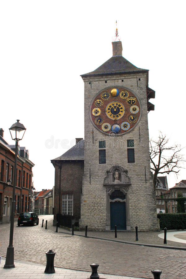 Clocktower dello Zimmer immagine stock libera da diritti