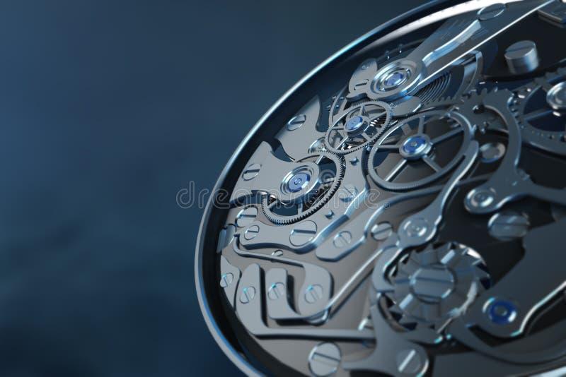 clockwork иллюстрация вектора