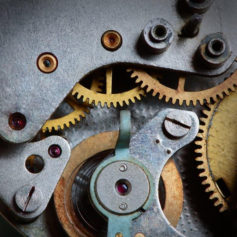 clockwork старый стоковая фотография