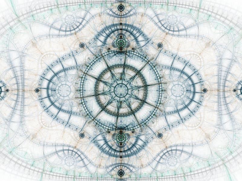 Clockwork фрактали звезды тематический бесплатная иллюстрация