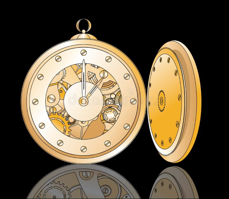 Download Clockwork stock vector. Illustration of mechanical, timer - 20388641