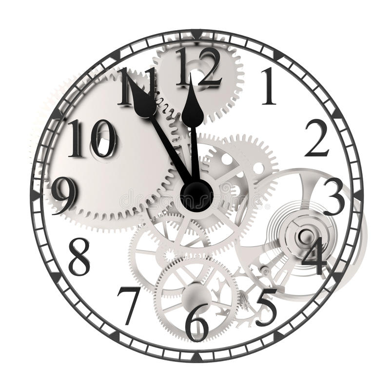 clockwork иллюстрация штока