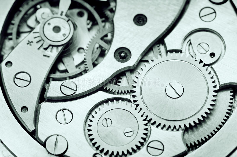 Download Clockwork stock image. Image of open, cooperation, close - 33357157