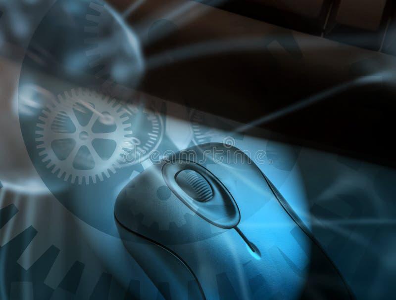 Download Clockwork computer stock illustration. Image of electronics - 7004943