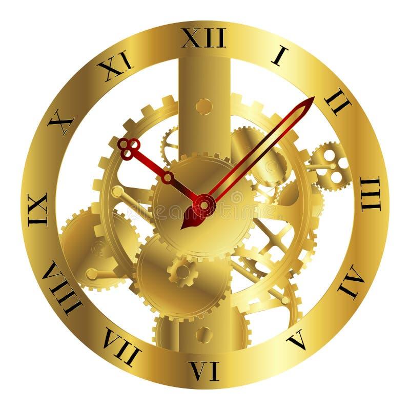 Download Clockwork design stock vector. Image of shape, instrument - 16911831