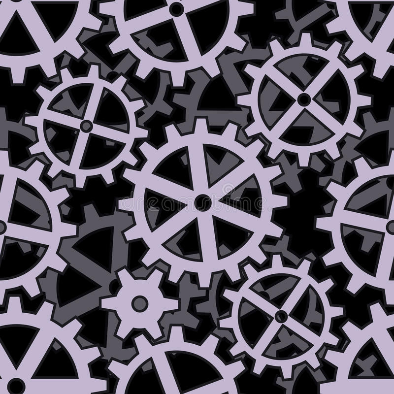 Download Clockwork Gears Seamless Background Pattern Royalty Free Stock Images - Image: 20450589