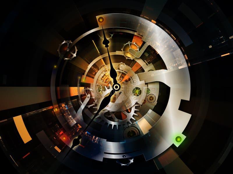 Clockwork Internals иллюстрация вектора