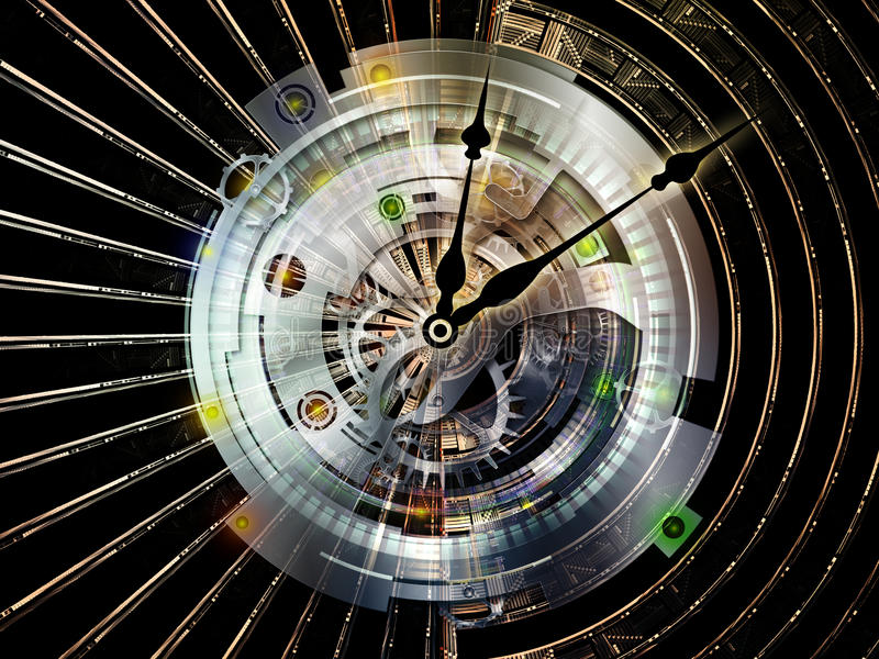 Clockwork Obliczać ilustracji