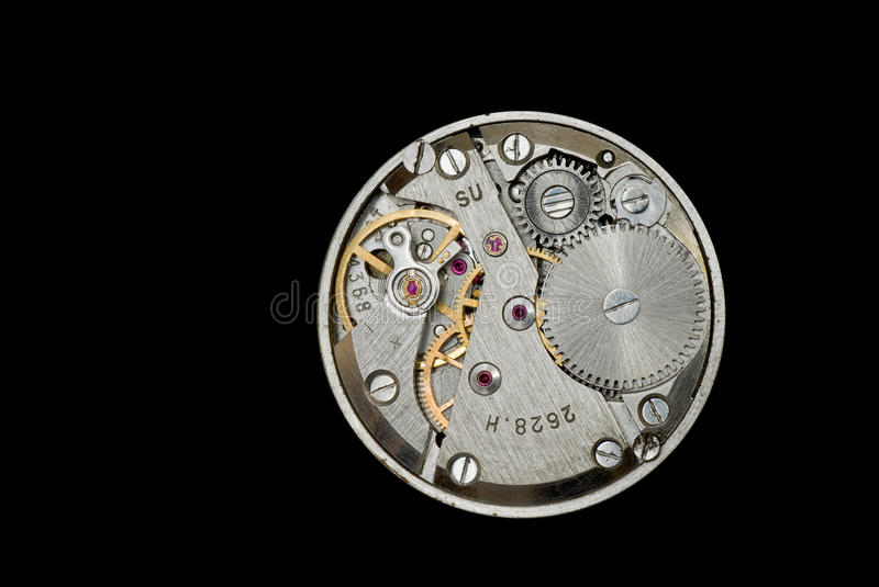 Download Clockwork From An Old Soviet Union Watch. Stock Photo - Image: 18598768