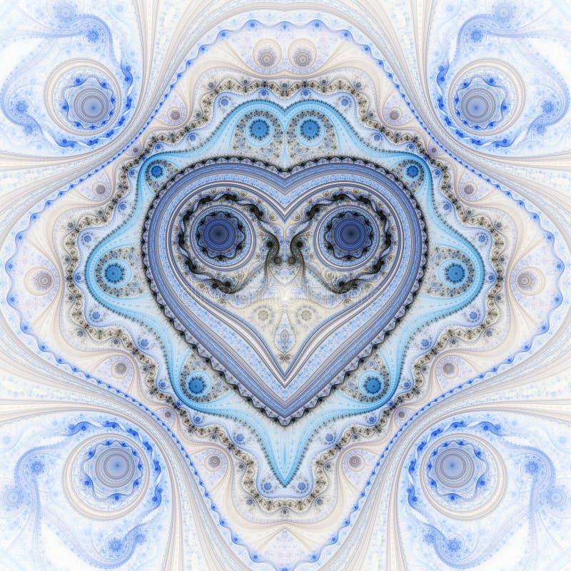 Clockwork valentine ` s dnia motyw obrazy stock