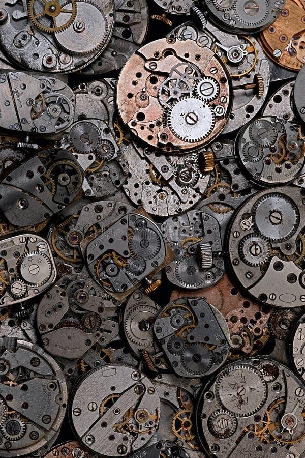 Clockworks stock images