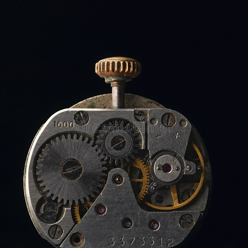 Clockworks royalty free stock photos