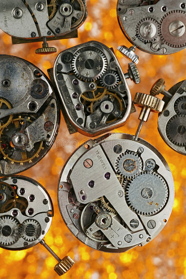 Clockworks stock photos