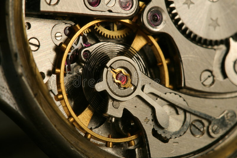 clockworks zdjęcie stock