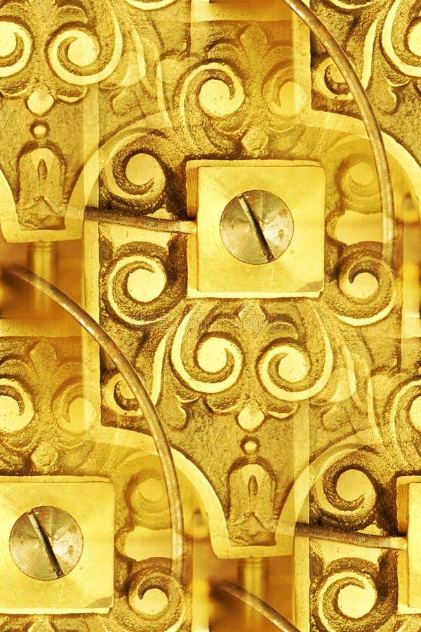 clockworks abstrakcjonistyczny rocznik zdjęcie royalty free