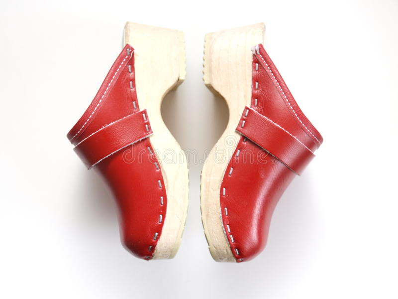 Clogs royalty free stock photo