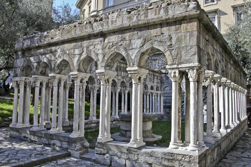 The Cloister Royalty Free Stock Images