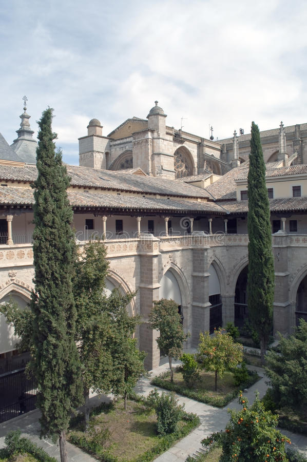 Cloister of the Cathedral of Toledo
