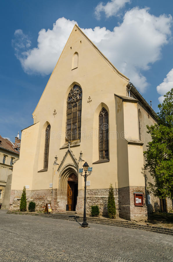 The Cloister Church stock images