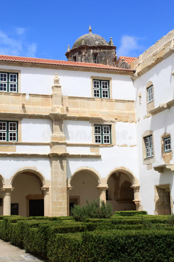 Download Cloister Of Convento De Cristo Stock Photo - Image of history, sunny: 25844006