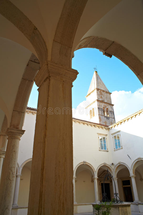 Download Cloister Of The Friars Minor, Piran Stock Image - Image: 22434797