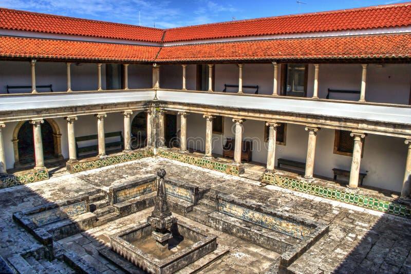 Download Cloister Monastery Of Jesus In Aveiro Stock Image - Image of cross, island: 92490771