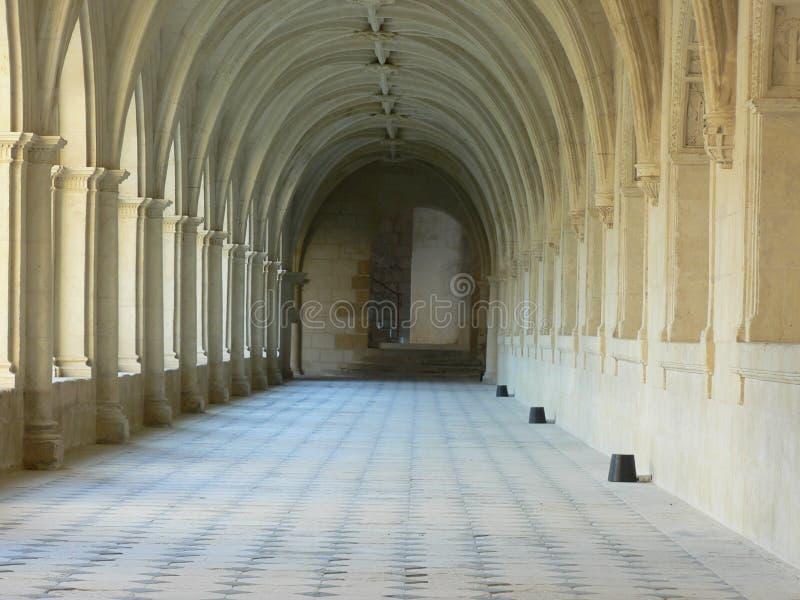Download Cloisters fotografering för bildbyråer. Bild av chateau - 506729