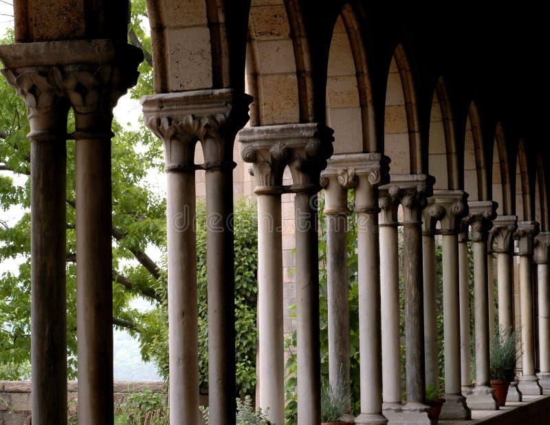 cloisters zdjęcia royalty free