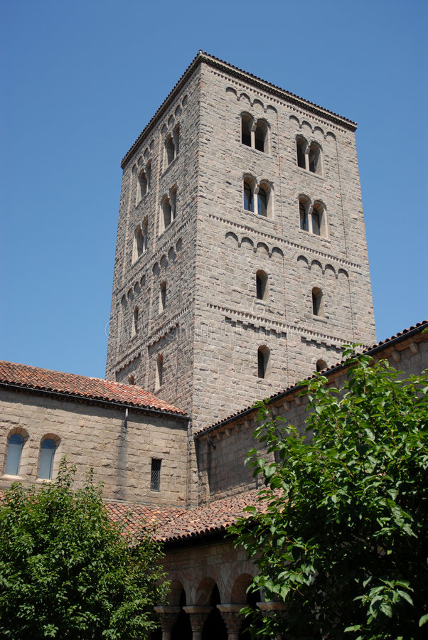 The Cloisters, Bronx,NY. The Cloisters, a museum of religious artifacts in the Bronx, New York stock images
