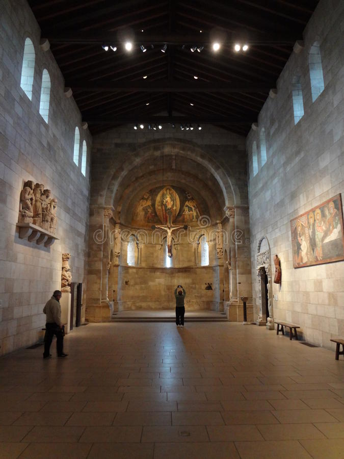 The Cloisters Museum And Garden 221. He art and architecture of medieval Europe, was assembled from architectural elements, both domestic and religious, that stock image