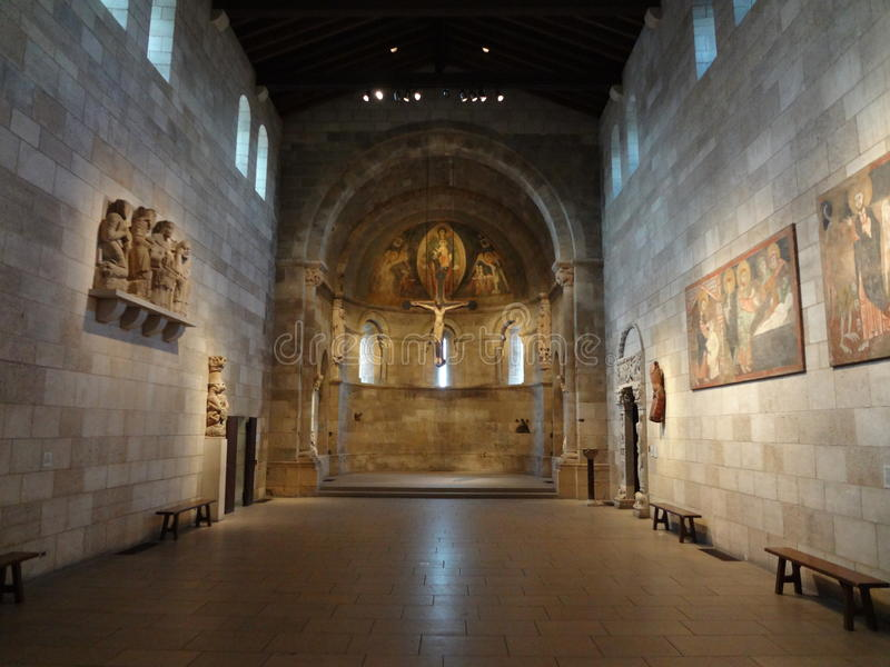 The Cloisters Museum And Garden 271. He art and architecture of medieval Europe, was assembled from architectural elements, both domestic and religious, that stock photography