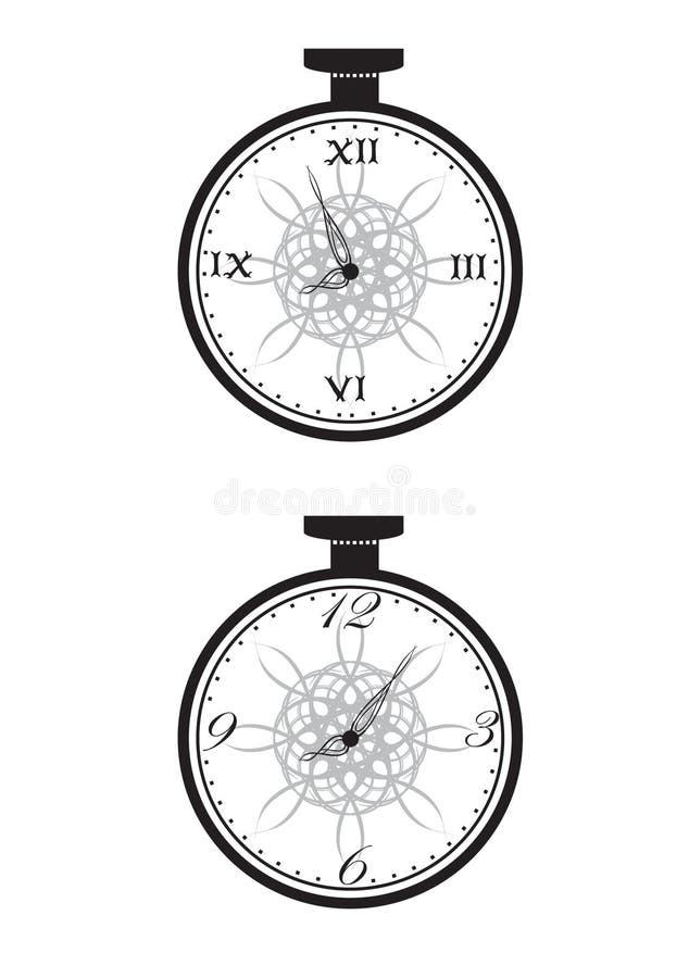 Download Cloks stock vector. Illustration of hurry, illustration - 6601871