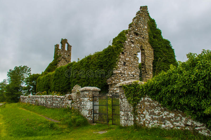 Clomantagh-Kirche stockbild
