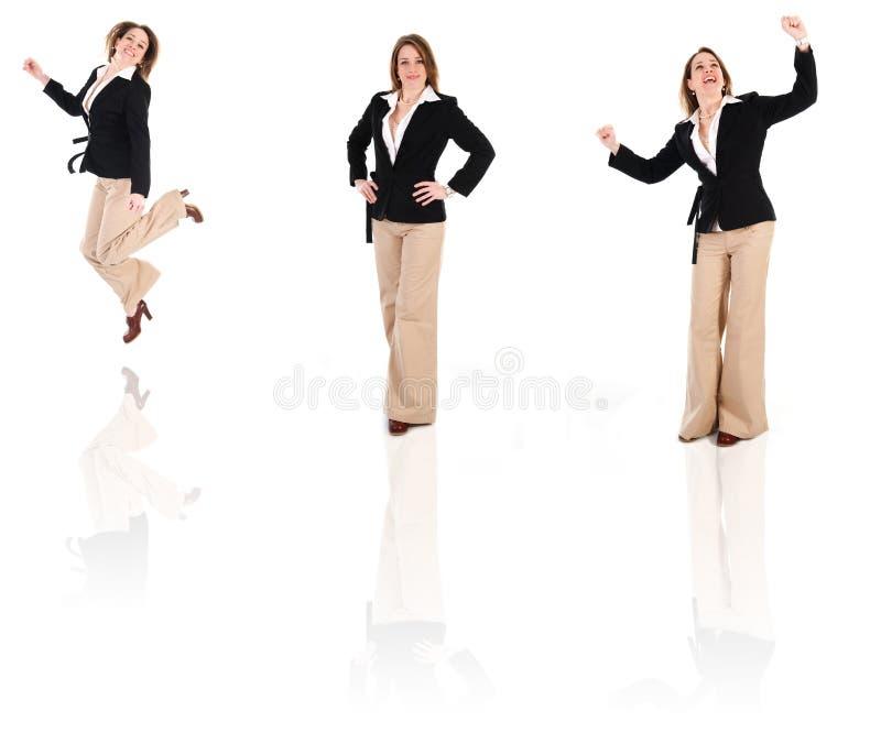 Clone da mulher de negócios fotos de stock royalty free