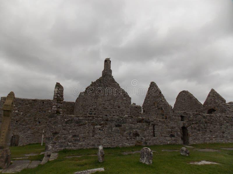 Clonmacnoise Irlanda immagine stock libera da diritti
