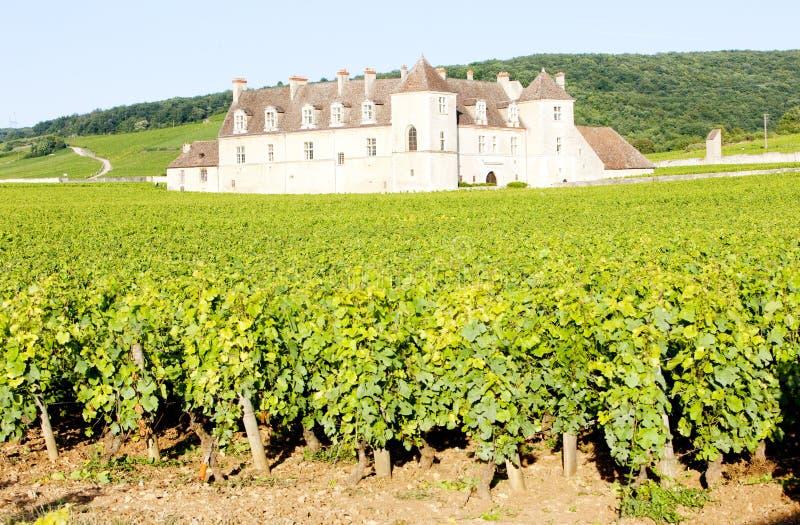 Clos Blanc De Vougeot Castelo fotos de stock royalty free