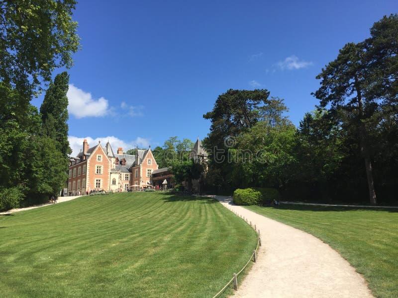 Clos Luce: Residenza del ` s di Leonard da Vinci immagine stock