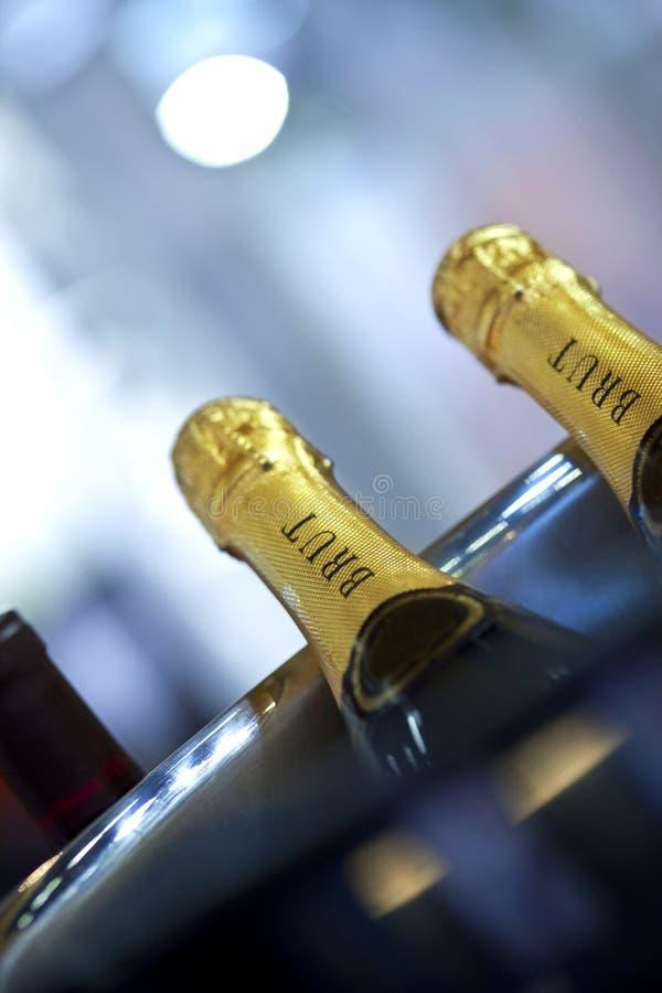 Clos up szampan obraz stock