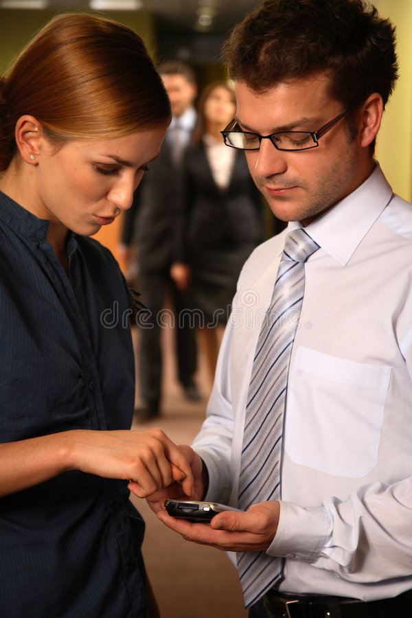 close cooperation stock photography