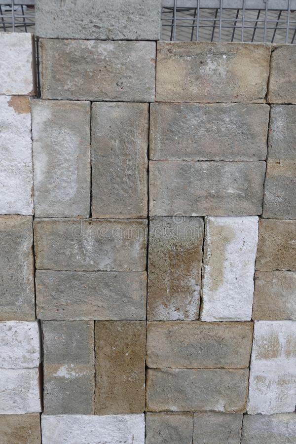 Detail of a stone tile texture stock images