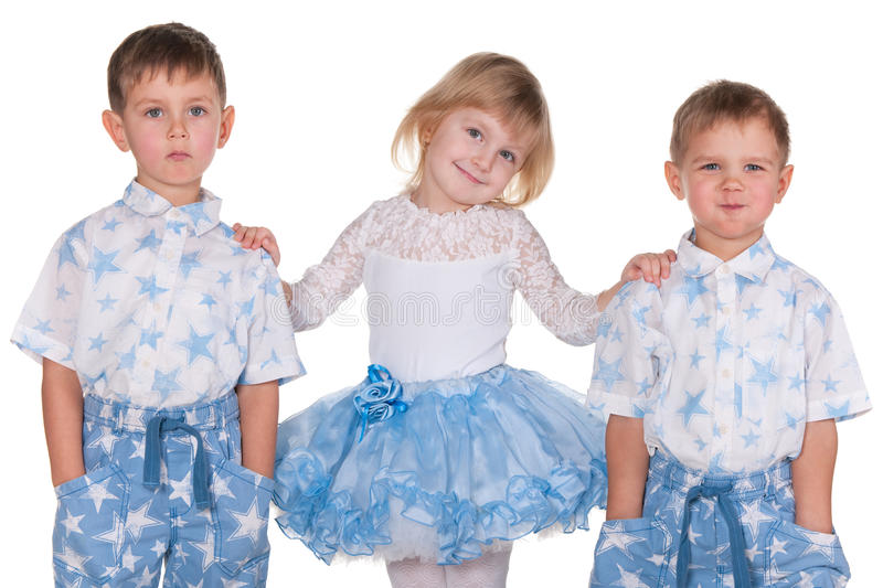 Download Close friends stock photo. Image of studio, preschoolers - 17980176