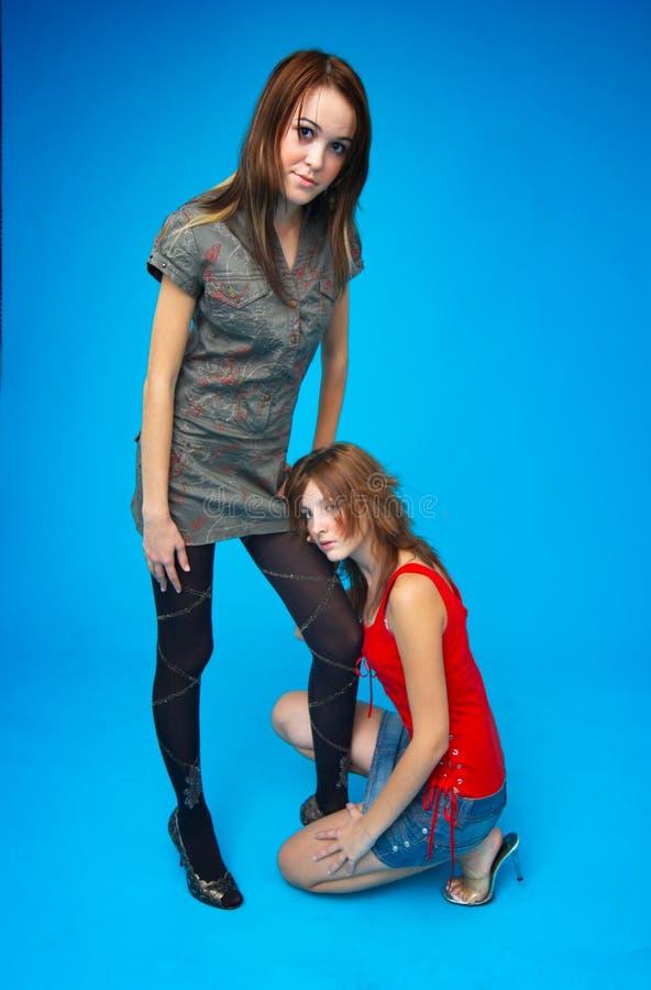 Download Close Friendship 3 stock photo. Image of brunette, captivating - 1446024