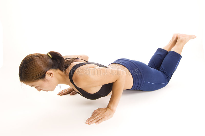 Download Close-grip Push-up 1 stock image. Image of asian, sports - 198197