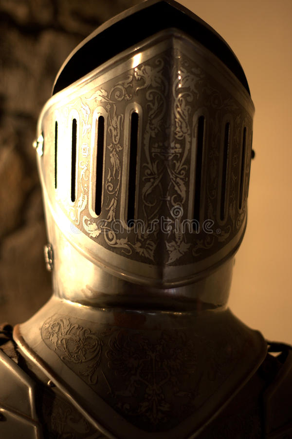 Download Close Helm armor stock photo. Image of strength, soldier - 13707636