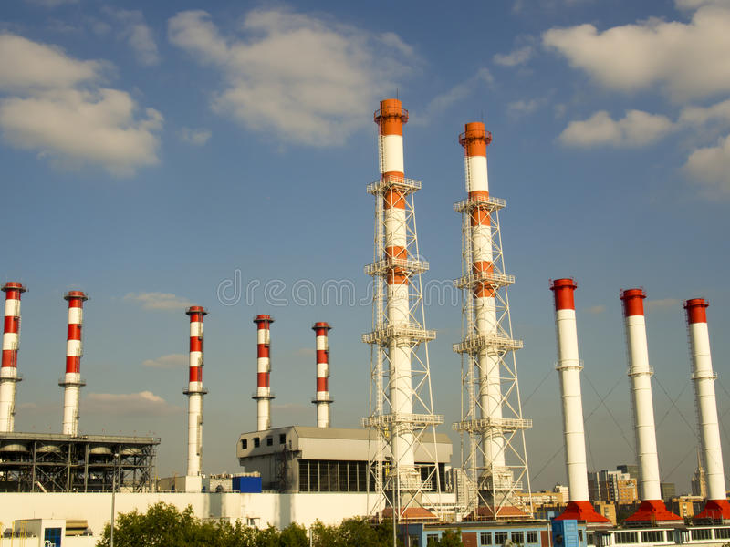 Download Close Industrial Zone, Close-up Of Industrial Pipelines Of The Plant, Power System Stock Image - Image of business, background: 99179219