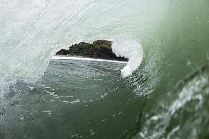 Close Out Wave stock image