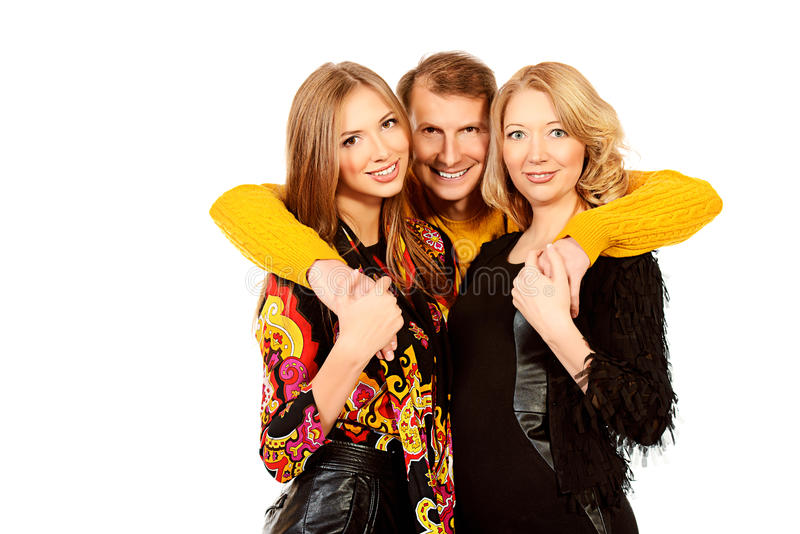 Download Close people stock image. Image of family, friendly, mature - 38242349