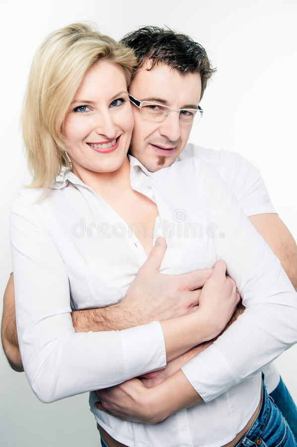 Close To A Loving Couple Stock Image