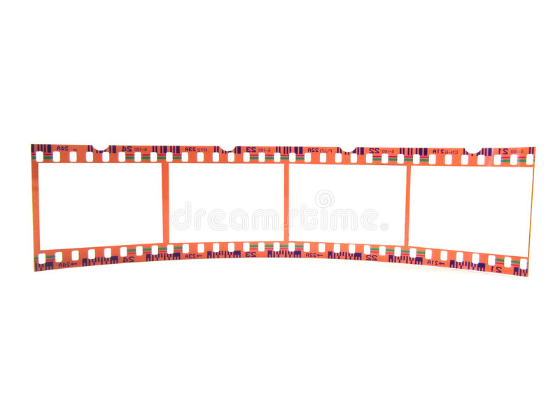 Download Close-up Of 35 Mm Flim-strip (single) Stock Image - Image of strip, role: 158723